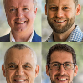 Carbon Engineering Team: Steve Oldham, Geoffrey Holmes, David St. Angelo, Kenton Heidel headshot
