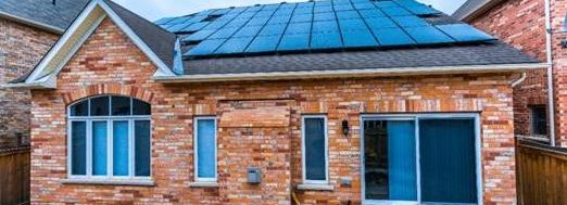 PURE Energies solar panel installation in Southern Ontario