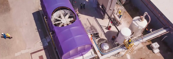 Carbon Engineering's Direct Air Capture system