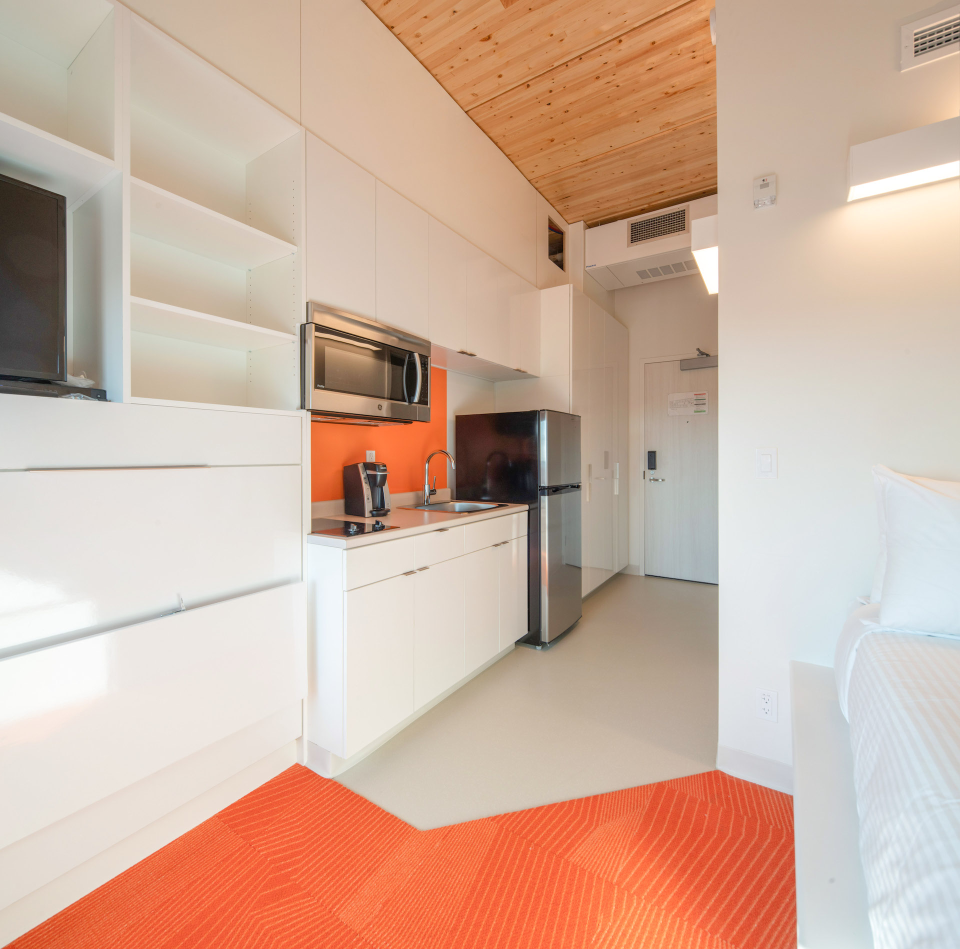 New Residence Room and Living Area